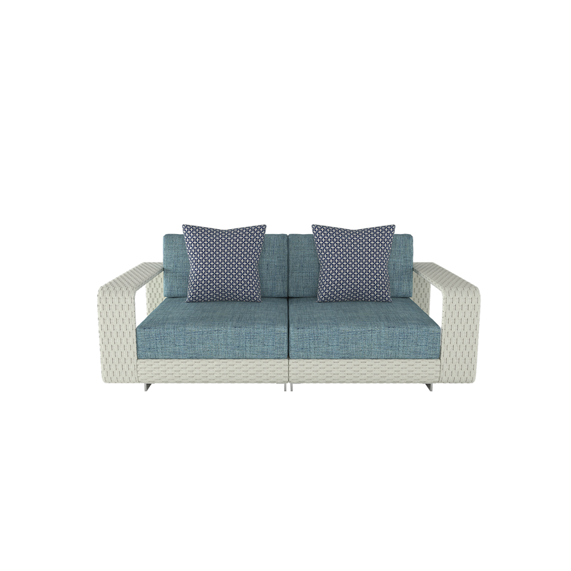 Hamptons Outdoor Loveseat