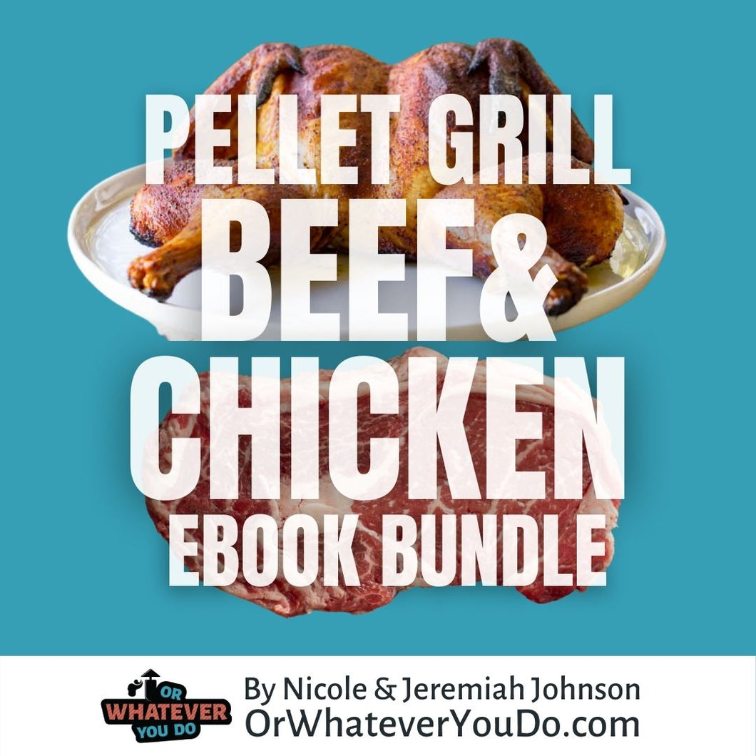 Pellet Grill Chicken and Beef E-Book Bundle