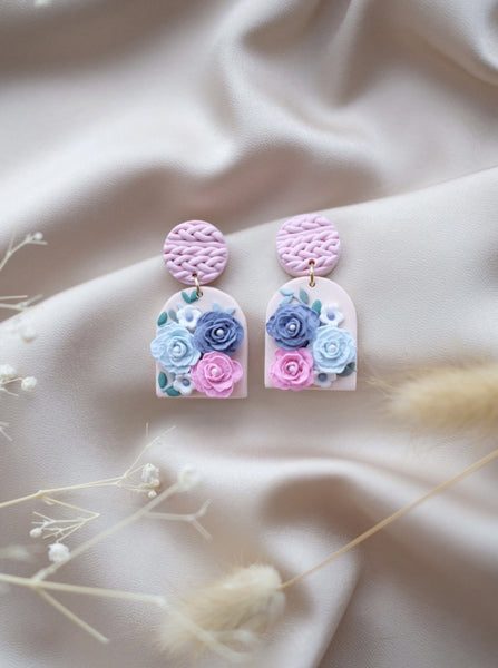 Romantic Florals - Pastels Arc