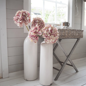 Glazed Garda White Vase (available in two sizes)