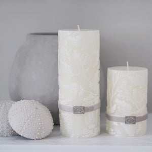 Florie Pillar Candle (available in two sizes)