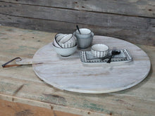 Load image into Gallery viewer, French white washed serving board