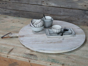 French white washed serving board