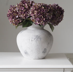 Darcy Vase - Antique White