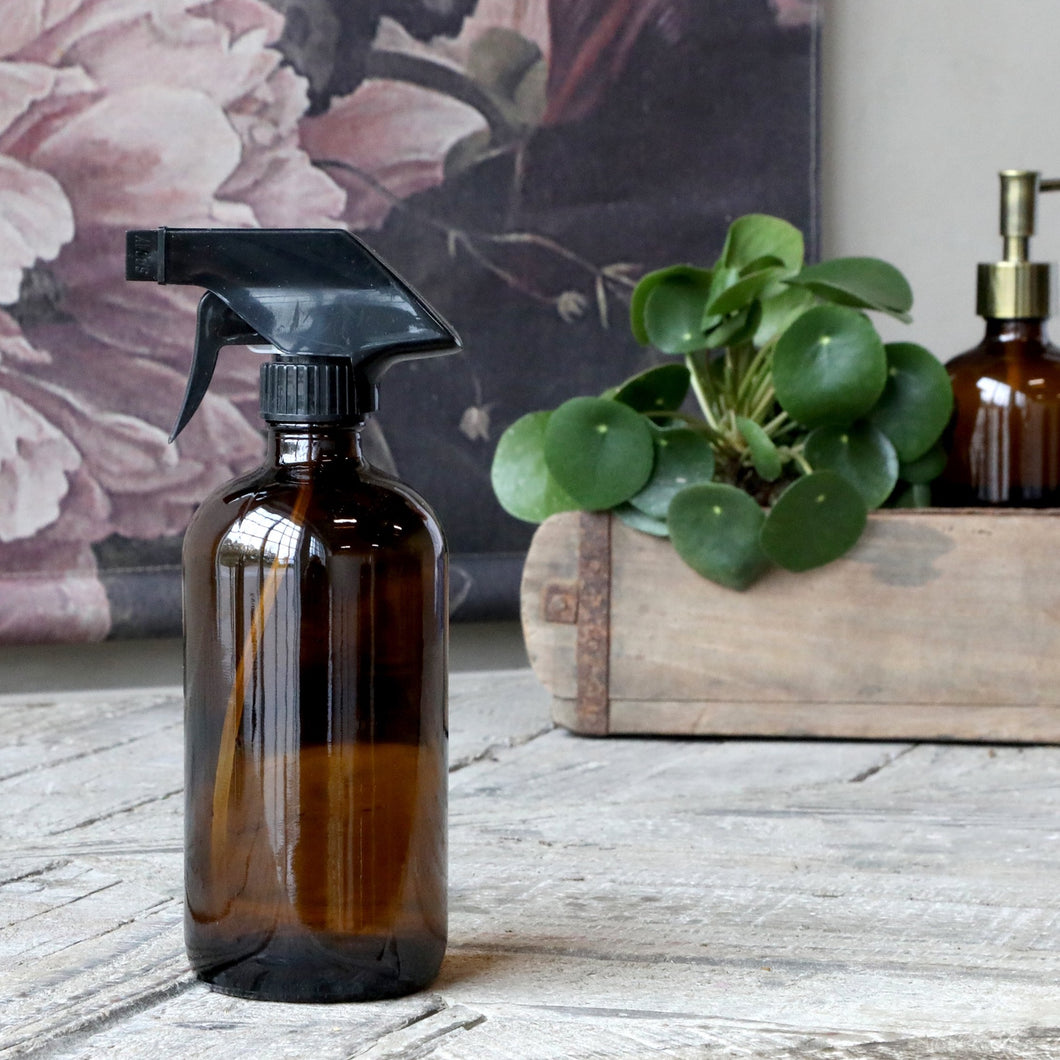 Glass Spray Bottle - Antique