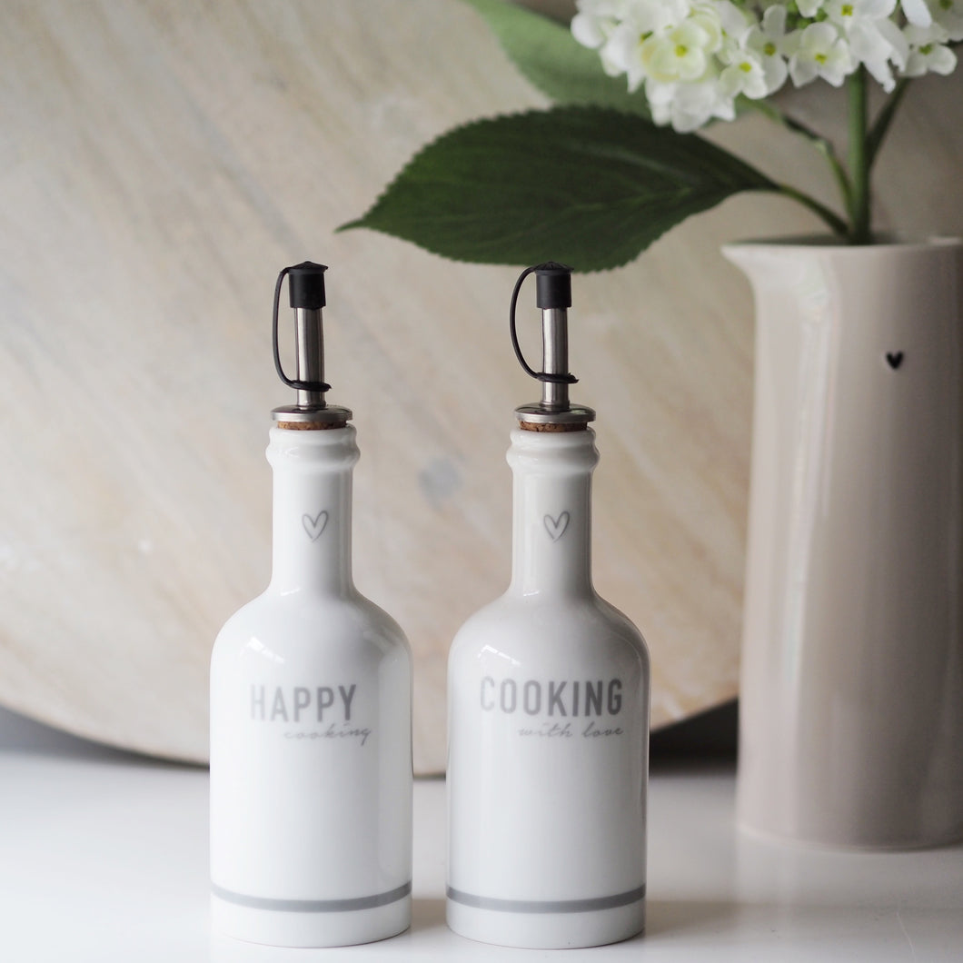 Set of Two Cooking Bottles