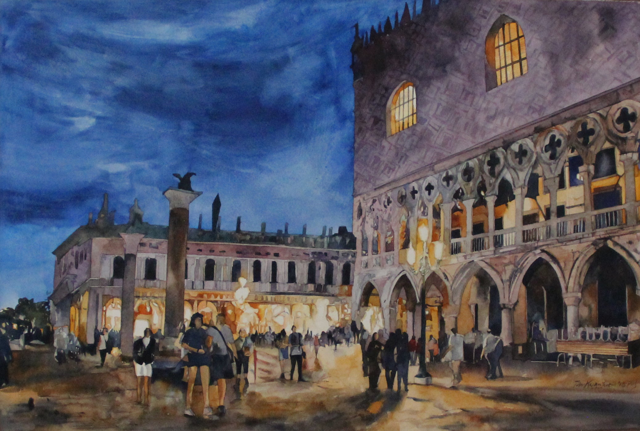 Evening at San Marco