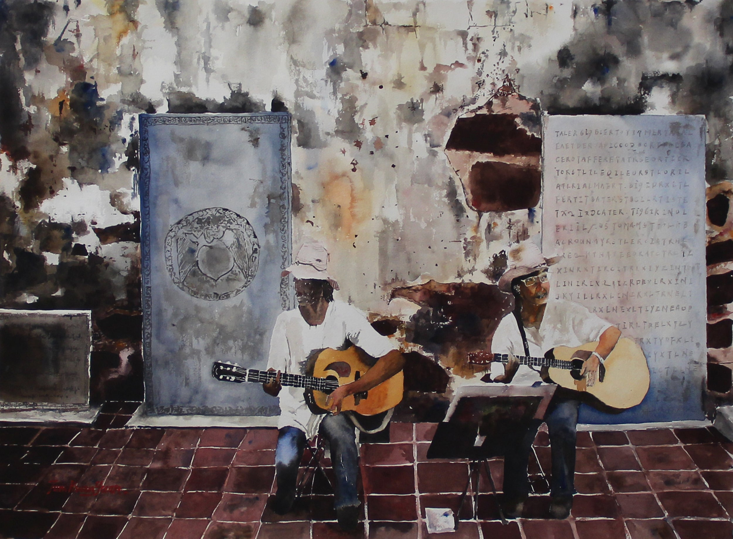 Melodies from Melaka Original Painting