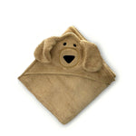 Dog Hooded Baby Towel & Mitt - CHARLIE