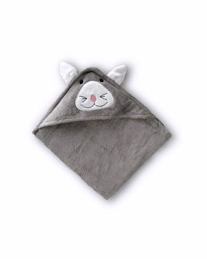 Cat Hooded Baby Towel & Mitt - TOM