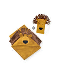 Lion Hooded Baby Towel & Mitt - MARTIN