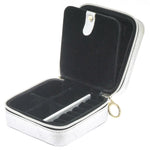 ZIP & GO Square Travel Jewelry Box