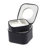 ZIP & GO Double Square Travel Jewelry Box