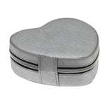 ZIP & GO Heart Travel Jewelry Box