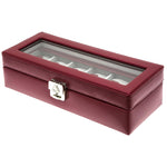 CHROME 6 Watches Box with Glass