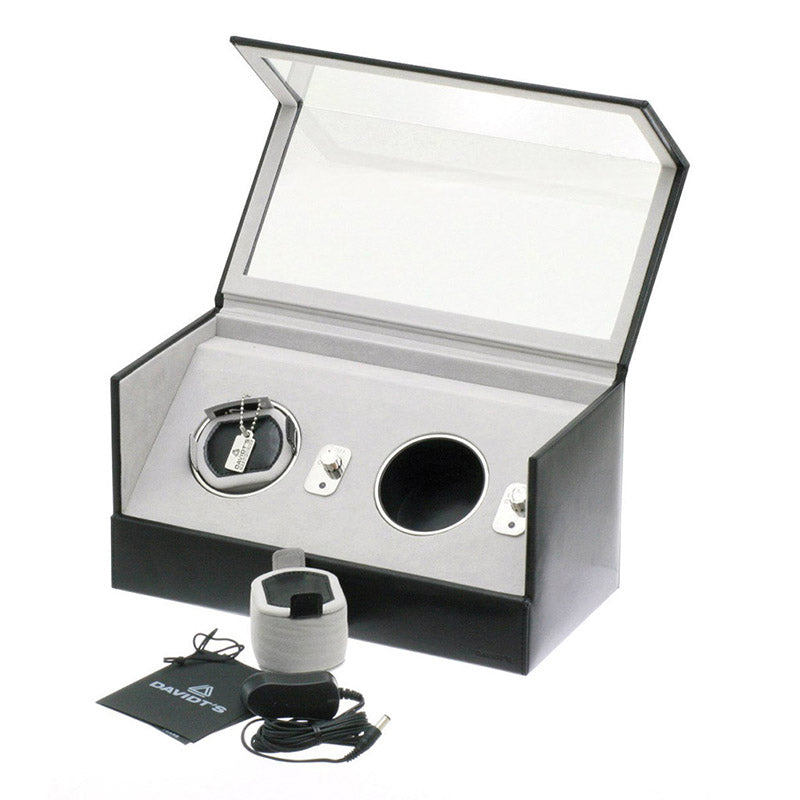 WATCHWINDER 2pc with Glass