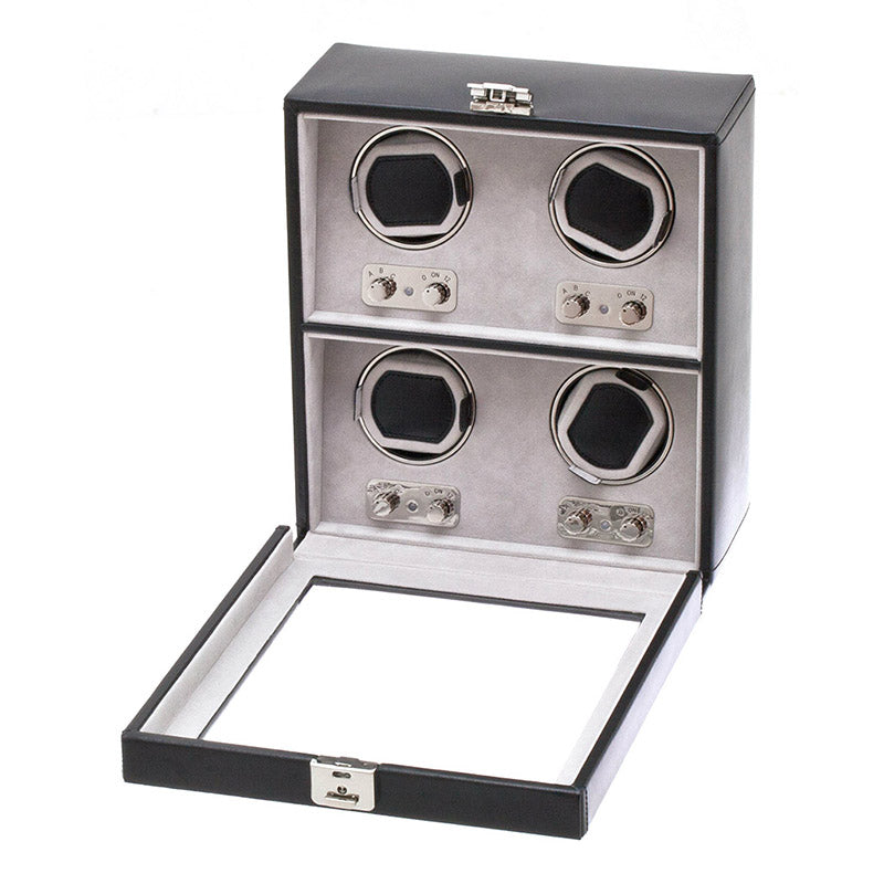 WATCHWINDER 4pcs with Glass