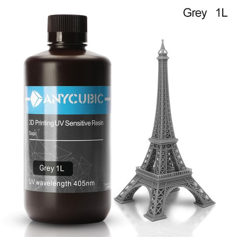 ANYCUBIC 405nm UV Resin for Photon 3D Printer, LCD, UV Sensitive, Liquid Printing Material - SmartTechUnlimited