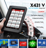 LAUNCH X431 V Bluetooth Wifi Professional Full System Car Diagnostic Scanner, Pro mini Automotive Code Reader - SmartTechUnlimited