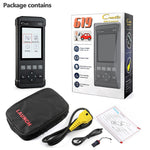 Launch CR619 OBDII Car Diagnostics Code Reader/Engine Scanner, ABS, SRS, Etc - SmartTechUnlimited