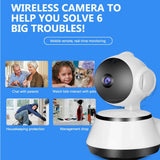 Portable WiFi Baby Monitor Audio Video Record - SmartTechUnlimited