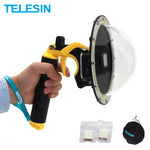 TELESIN GoPro Hero 30m Waterproof Dome Cover Trigger Case Housing - SmartTechUnlimited