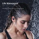TWS Earbuds, Bluetooth v 5.0, Wireless, Waterproof, Stereo, with Charging Case & Digital Readout - SmartTechUnlimited