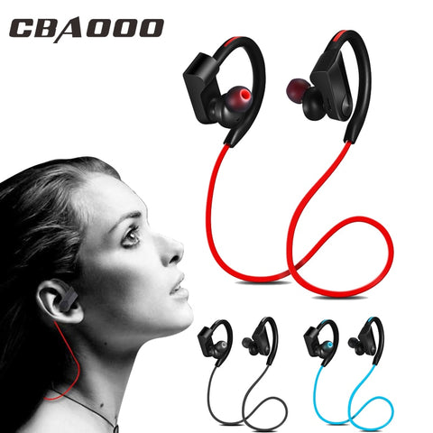 CBAOOO K98 Bluetooth Wireless Stereo Headphones/Earphones, Mic, Waterproof, Noise Cancelling, Sport, Running - SmartTechUnlimited