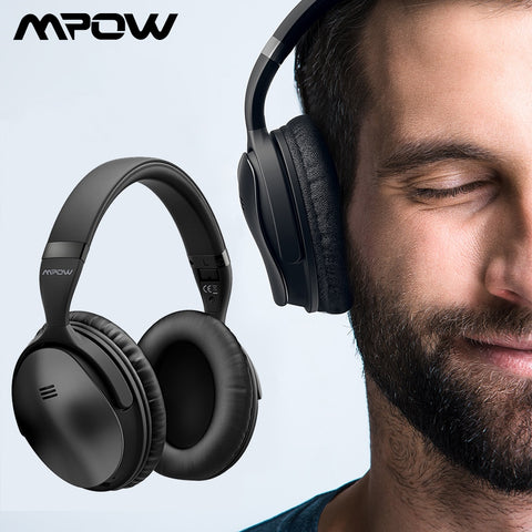 Mpow H5 2Gen Wireless Bluetooth Headphones, ANC, Carrying Bag - SmartTechUnlimited