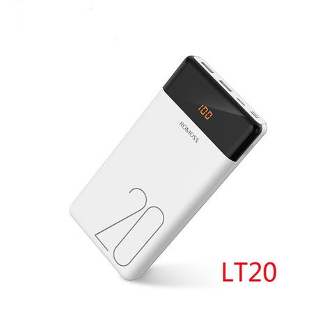 ROMOSS LT20 Power Bank Dual USB 20000mAh - SmartTechUnlimited