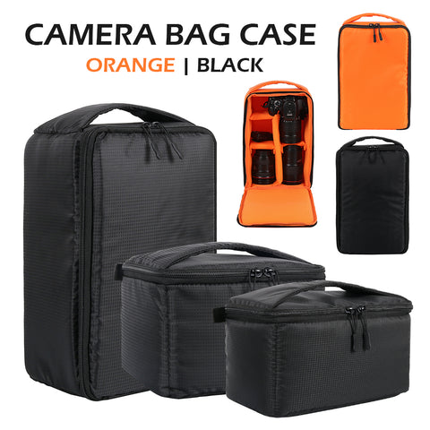 Outdoor Camera Case, Padded, Waterproof, Multi-Functional, Adjustable Inner Slots, S, M, L - SmartTechUnlimited