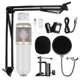 Professional Studio Microphone  and Accessories Set for Computer, bm800, Recording Quality - SmartTechUnlimited