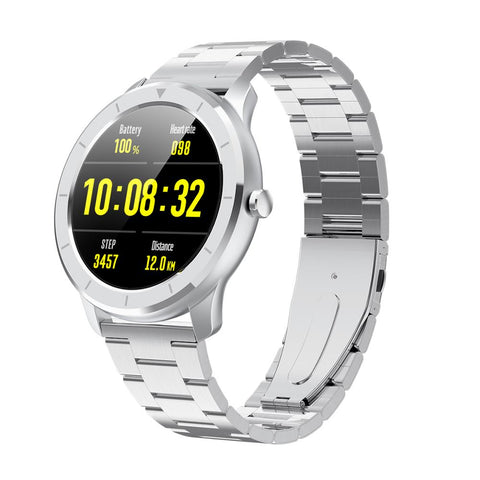 LEMFO Men's IP68 Waterproof Upgraded Smart Watch, Full Touch Screen, Health & Sports Tracker, & Much More - SmartTechUnlimited