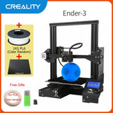 Creality 3D Ender-3/Ender-3 Pro 3D Printer, DIY Kit with Upgrade, Resume Printing, Mean Well Power Supply - SmartTechUnlimited