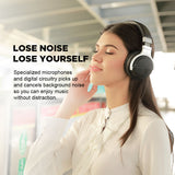 Meidong E7B Bluetooth Wireless Active Noise Cancelling Headphones - SmartTechUnlimited