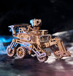 Robotime Moveable 3D Wooden Solar Space Hunting Model, 4 Kits, LS402, Moon Buggy, Curiosity Rover, Spirit Rover, Discovery Rover - SmartTechUnlimited