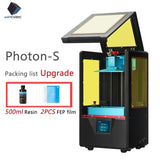 ANYCUBIC Photon-S 3D Printer, Dual Z Axis, Quick Slice, 405nm Matrix, UV Module, SLA - SmartTechUnlimited
