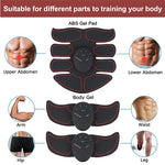 EMS Abdominal Electric Trainer, Smart Muscle Stimulator, Body Building, Fitness for Abdomen/Arm/Hip, ABS Exercise Set - SmartTechUnlimited
