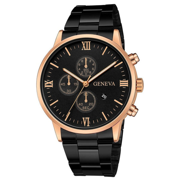 Relogio Masculino Men Watches Luxury Brand Auto Date Male Clock Quartz Watch Men Gold Casual Sport Military Wrist Watch