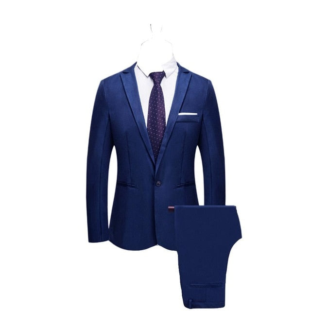 Brand Men Suit Wedding Suits for Men Shawl Collar 3 Pieces Slim Fit Burgundy Suit Mens Royal Blue Tuxedo Jacket costume homme #