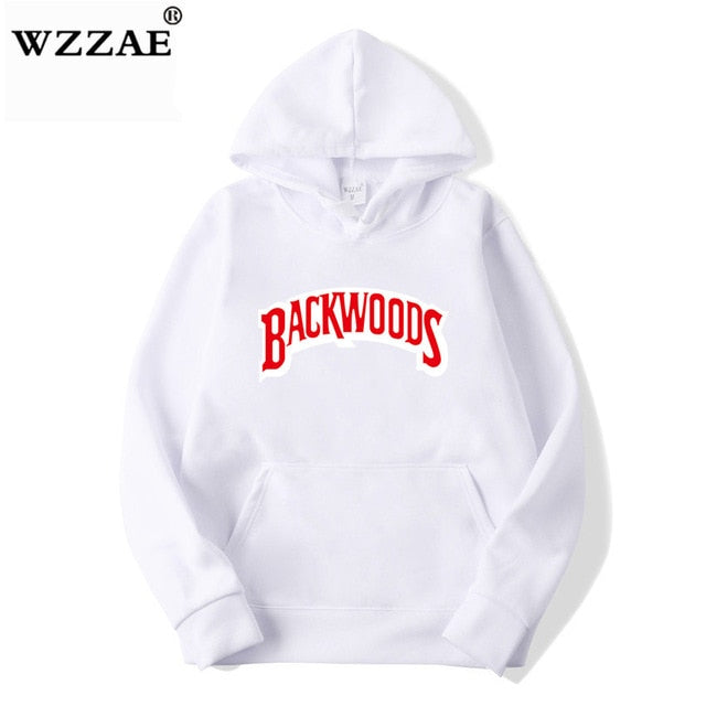 The screw thread cuff Hoodies Streetwear Backwoods Hoodie Sweatshirt Men Fashion autumn winter Hip Hop hoodie pullover Hoody