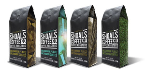 New Shoals Coffee Co Packaging to come
