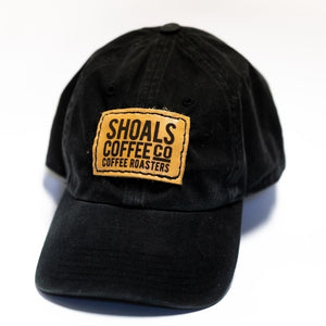 SHOALS COFFEE CO LOGO VINTAGE WASH CAP