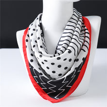 Load image into Gallery viewer, Women's Geometric Polka Dot Scarf