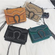 Load image into Gallery viewer, Cross Body Chain Shoulder Bag