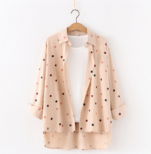 Load image into Gallery viewer, Women Polka Dot Shirt