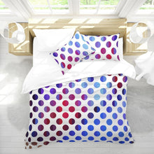 Load image into Gallery viewer, Polka Dot Bedding Set