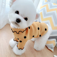 Load image into Gallery viewer, pet dog shirt polka dot