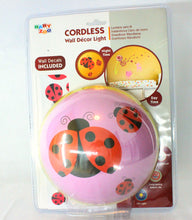 Load image into Gallery viewer, Fawn and Ladybug Cordless Wall Décor Light