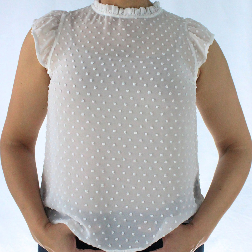 Lovely Dotted Blouse